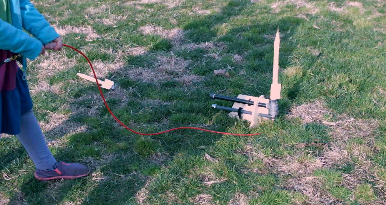 Make a rocket with help from Sprout by HP.
