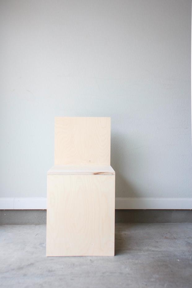 Marfa Inspired Minimal Chair 25