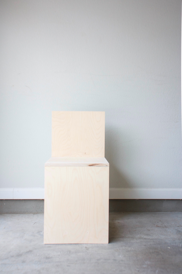 how to make a plywood chair bedroom upcycling build minimalist out of i m beginner woodworker so set simple marfa inspired which requires only the most basic skills