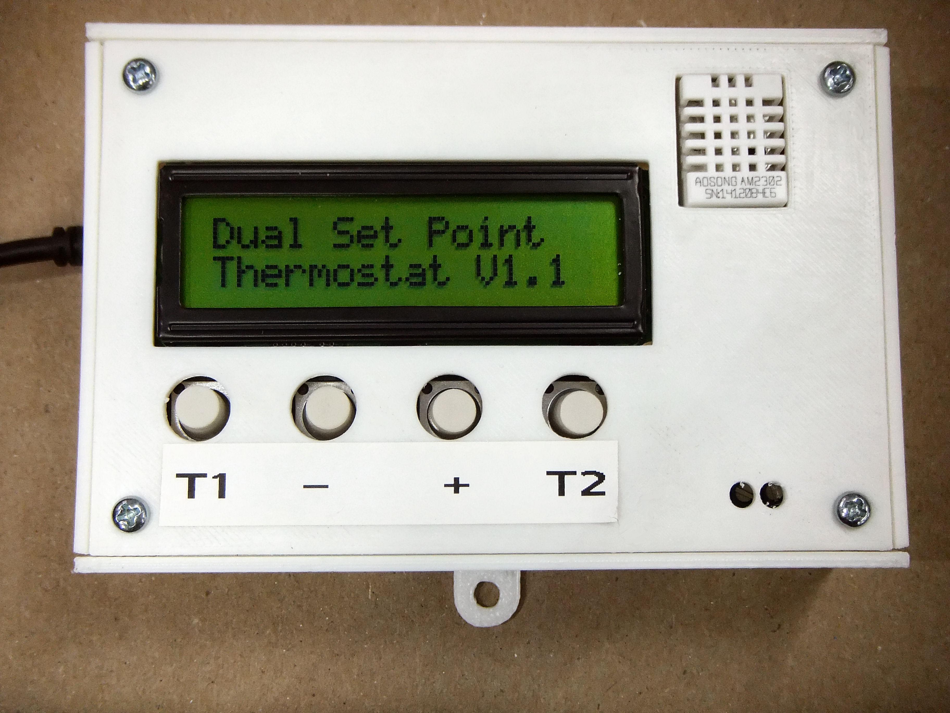Build a Dual Thermostat for Precise Preset Temperatures | Make