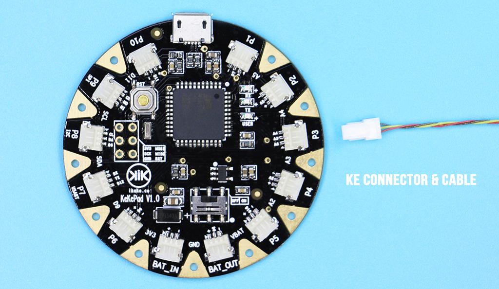 KeKePad Wearable Board Brings Easy Alternative to Conductive Thread