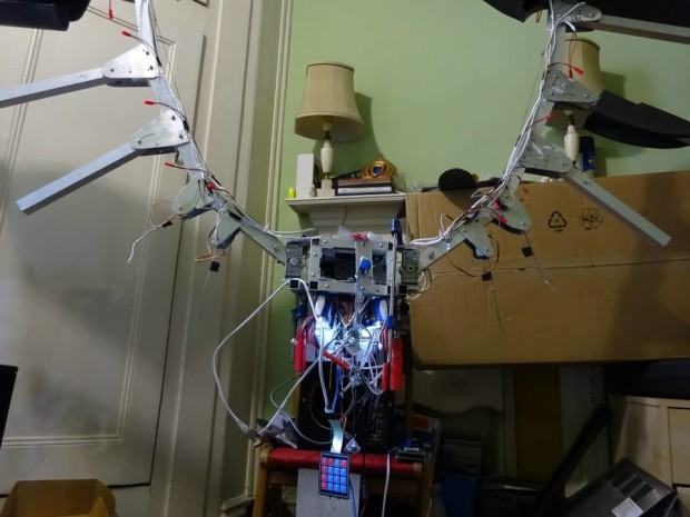 The wings are actuated by a series of motors that control everything from plumage to wing angle.