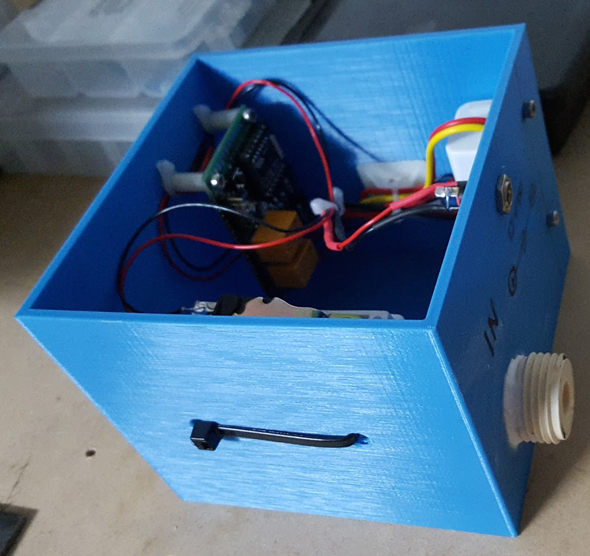 How To Build A Cheap Wi Fi Controlled Water Valve Make 12 Volt Solenoid Wiring Diagram Sel Finished2ssl1