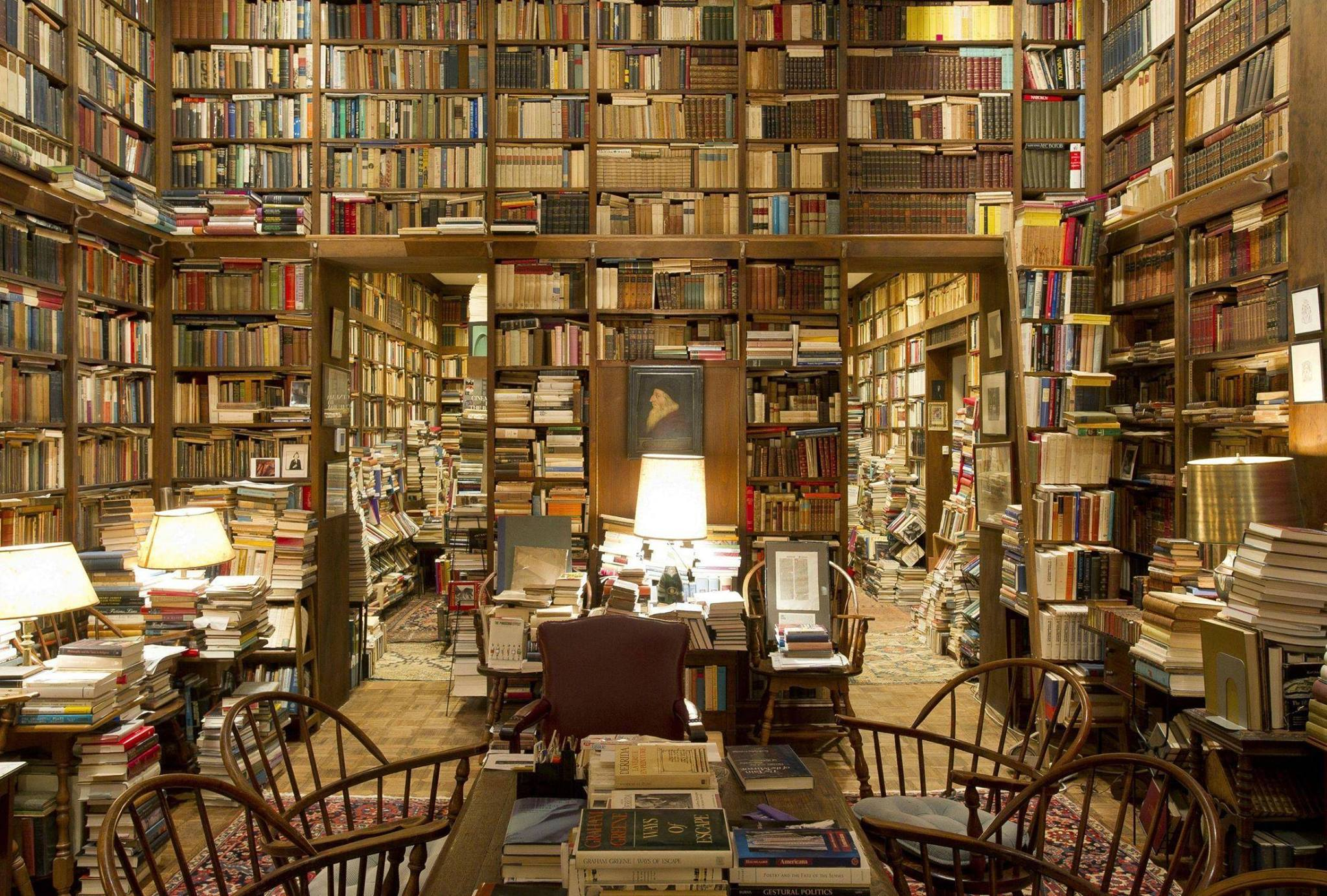 Cultivating Curiosity in a Professor's Heavenly Home Library