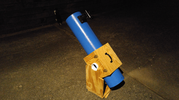 Build a Dobsonian Telescope Small Enough to Transport, Big