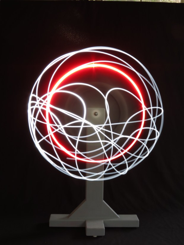 Explore Chaos Theory with an LED Double Pendulum