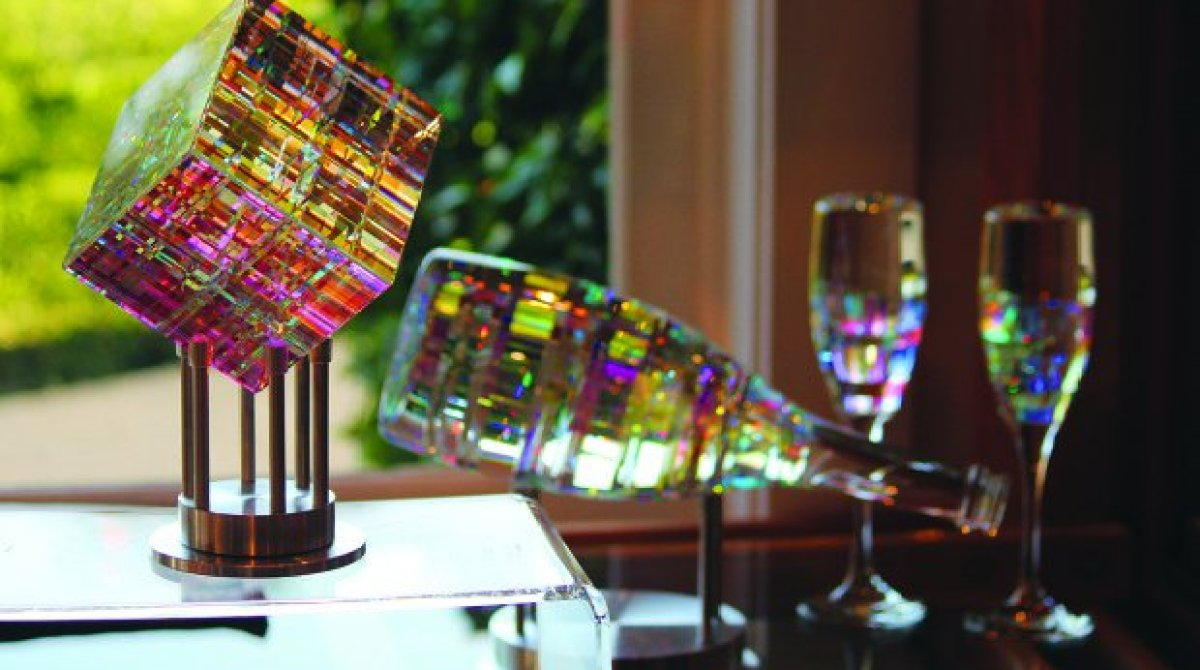 This Glass Art Isn't Blown or Molded — It's Turned on a Lathe