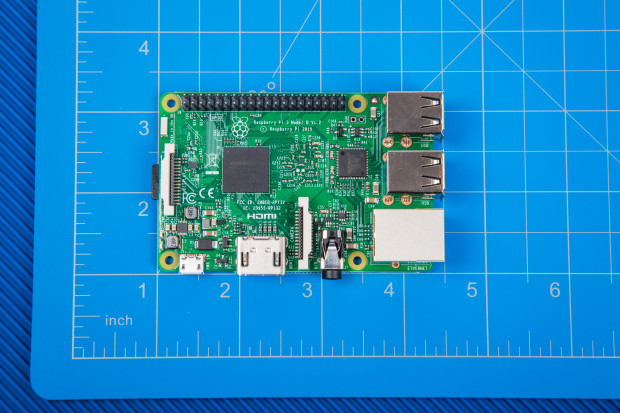The new Raspberry Pi 3, Model B
