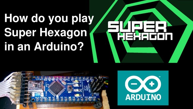 Alejandro J. Cura and friends designed their Super Ventilagon game using an Arduino Nano and fan for a POV display.