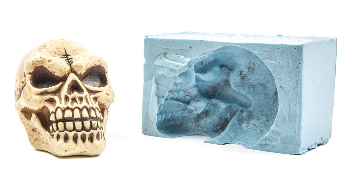 How to make a skull of paper: we masters ourselves