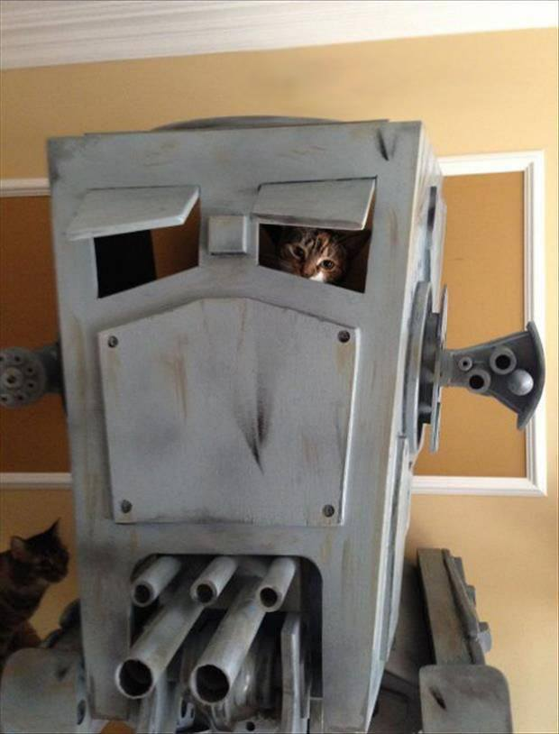 AT-ST-Star-Wars-Cat-House-2