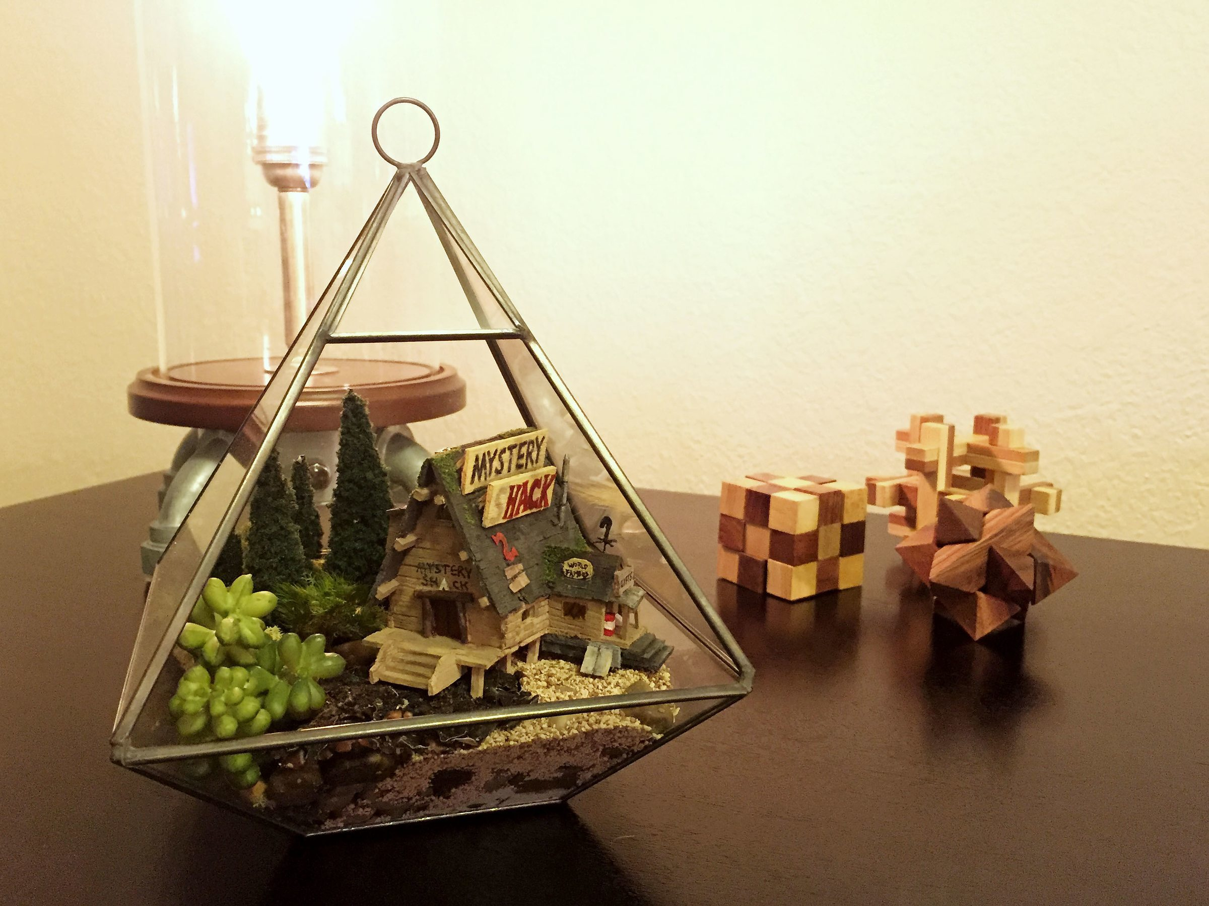 Gravity Falls Mystery Shack Wallpaper Learn How To Build This Quot Gravity Falls Quot Themed Terrarium