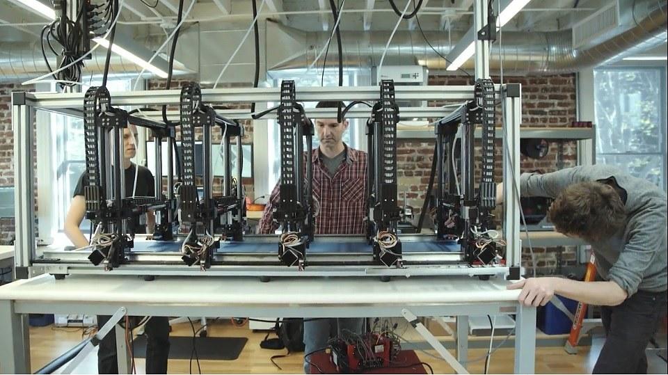 Autodesk's Project Escher Uses Multiple 3D Print Heads for Massive Jobs