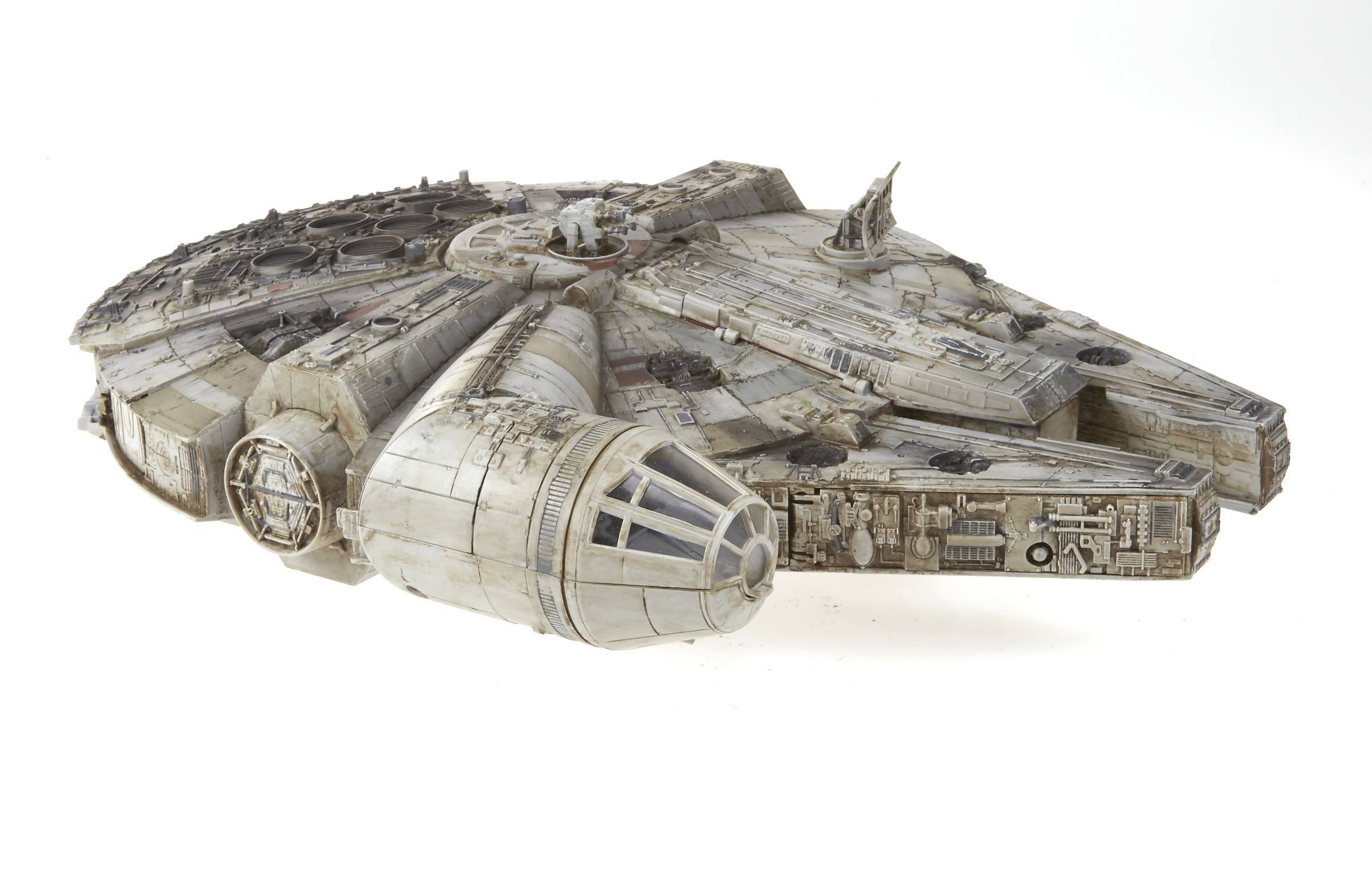 This Millennium Falcon Toy Is Straight Out of Star Wars After a New Paint Job