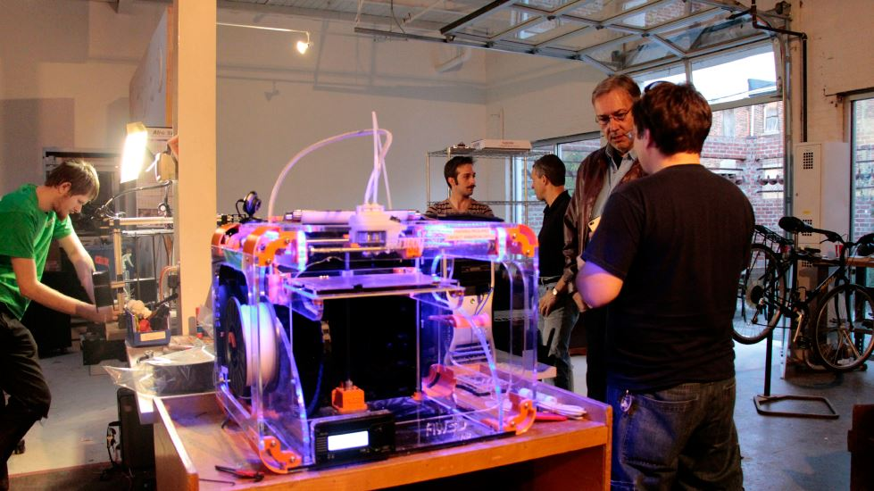 Makerspace Revitalizes South End of Downtown Greensboro, North Carolina