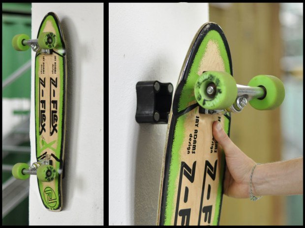 7 projects to take your longboard game to the next level make magnetic skateboard hanger solutioingenieria Gallery