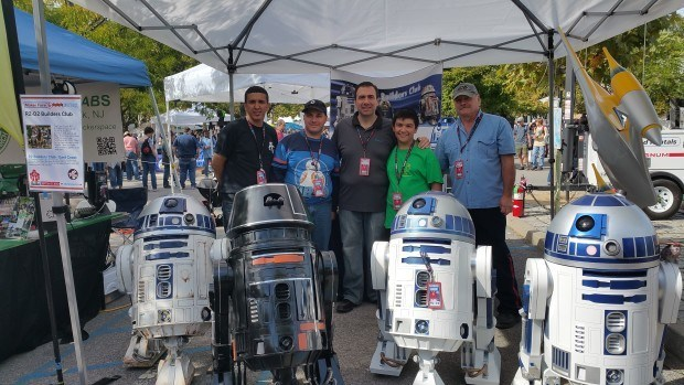 East Coast R2 Builders at World MAker Faire 2015