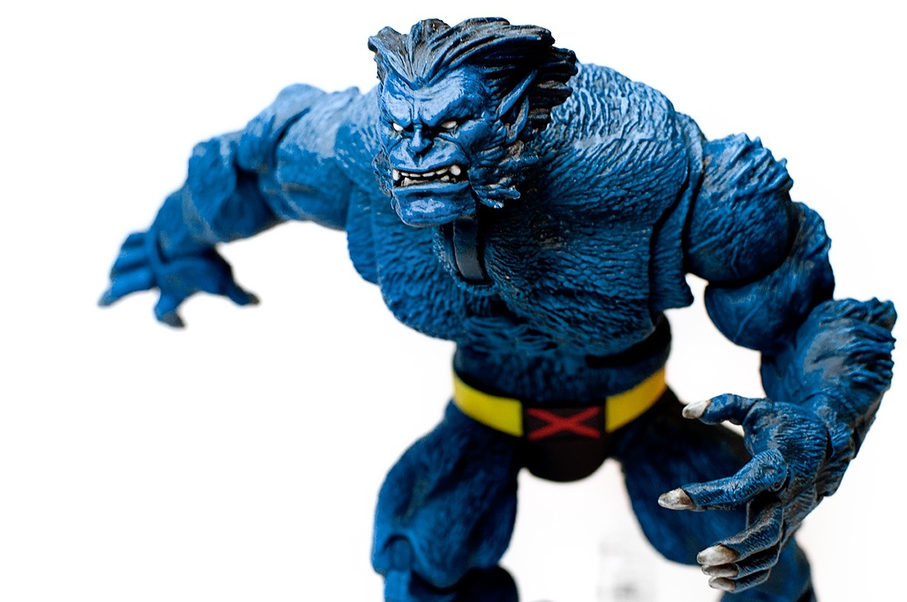 Monster Mashup: Two Action Figures Combined to Make X-Men's Beast