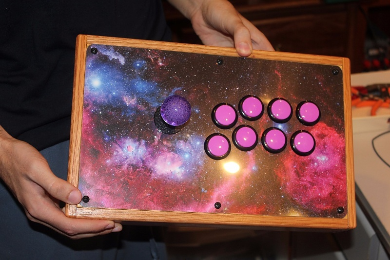 This Spacey Arcade Game Controller Is Out of This World