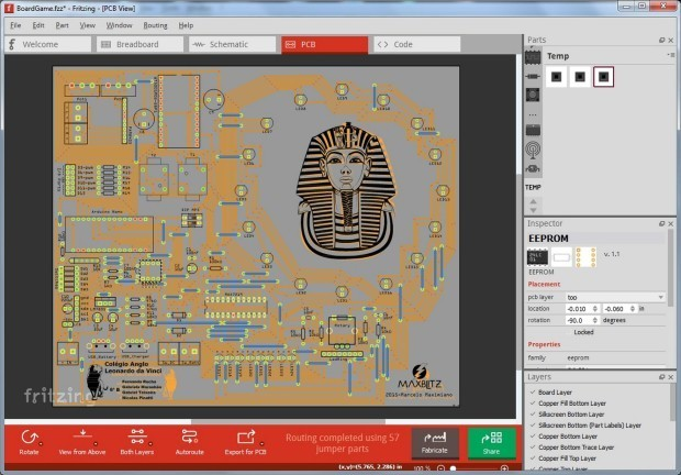Middle Schoolers Built An Arduino Board Game To Explore Ancient Egypt