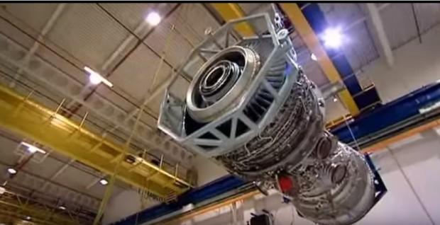 Jumbo jet engines weigh about five tons and carries a payload of 242 tons.