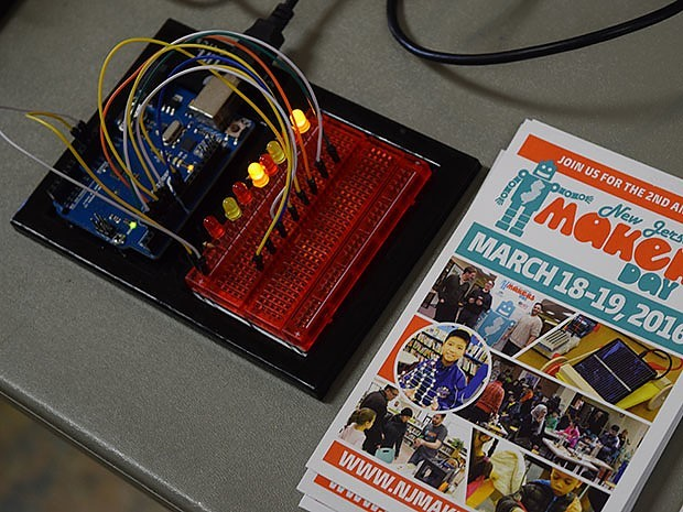 New Jersey Makers Day was back for its second year on March 18 and 19th. Photo credit: Doug Baldwin