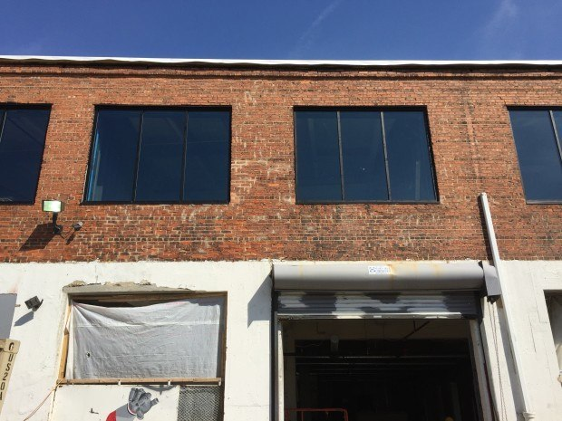 New windows in place. Photograph by Will Holman