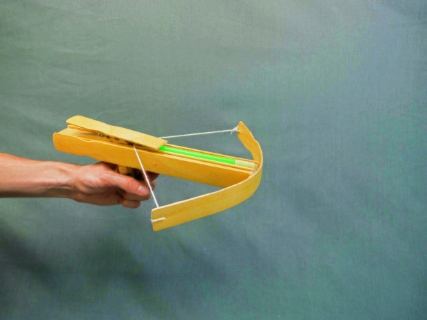 Make a Paper Crossbow | Office supplies diy, Stationary office supplies,  Pretty office supplies | 465x620