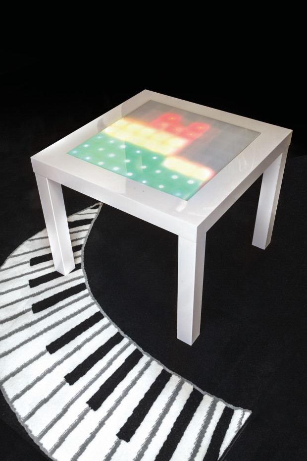 Transform an Ikea Side Table into a Music Visualizer