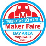 This project was featured at the 10th annual Maker Faire Bay Area in 2015