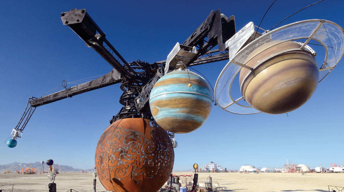 Don't Miss These Burning Man Art Installations at Maker Faire Bay Area