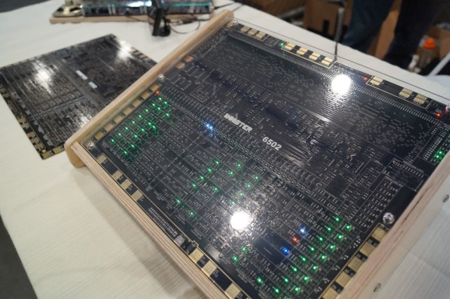 This Functioning Monster 6502 Is a Larger Than Life Version of the Iconic Microchip