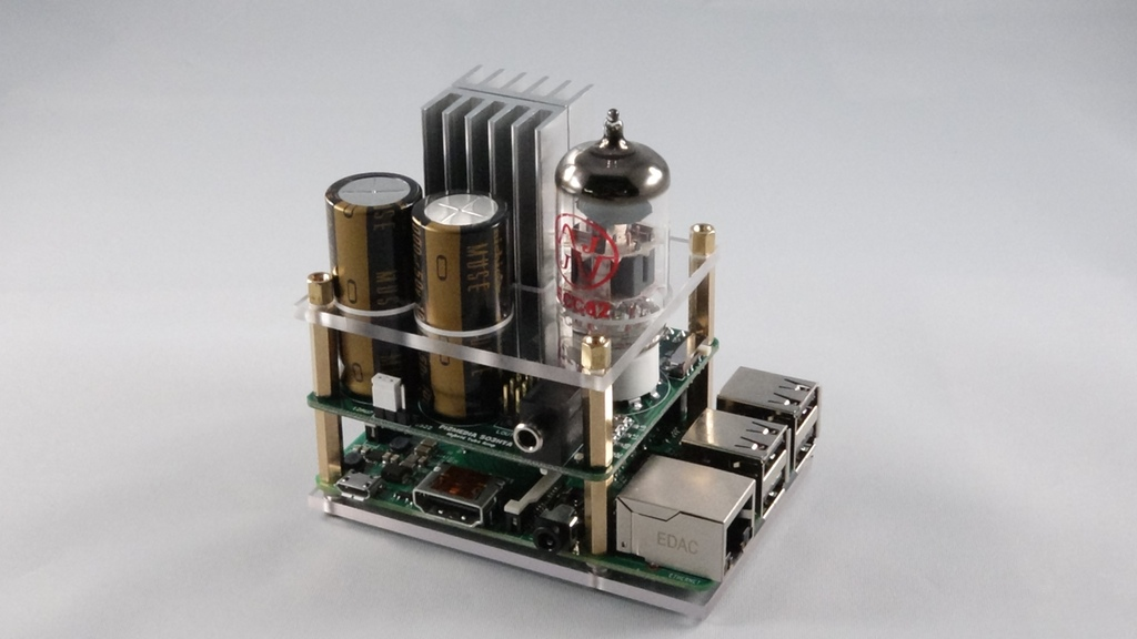 wire diagram maker electrical software open source raspberry pi gets a vacuum tube amp audio add-on board | make: