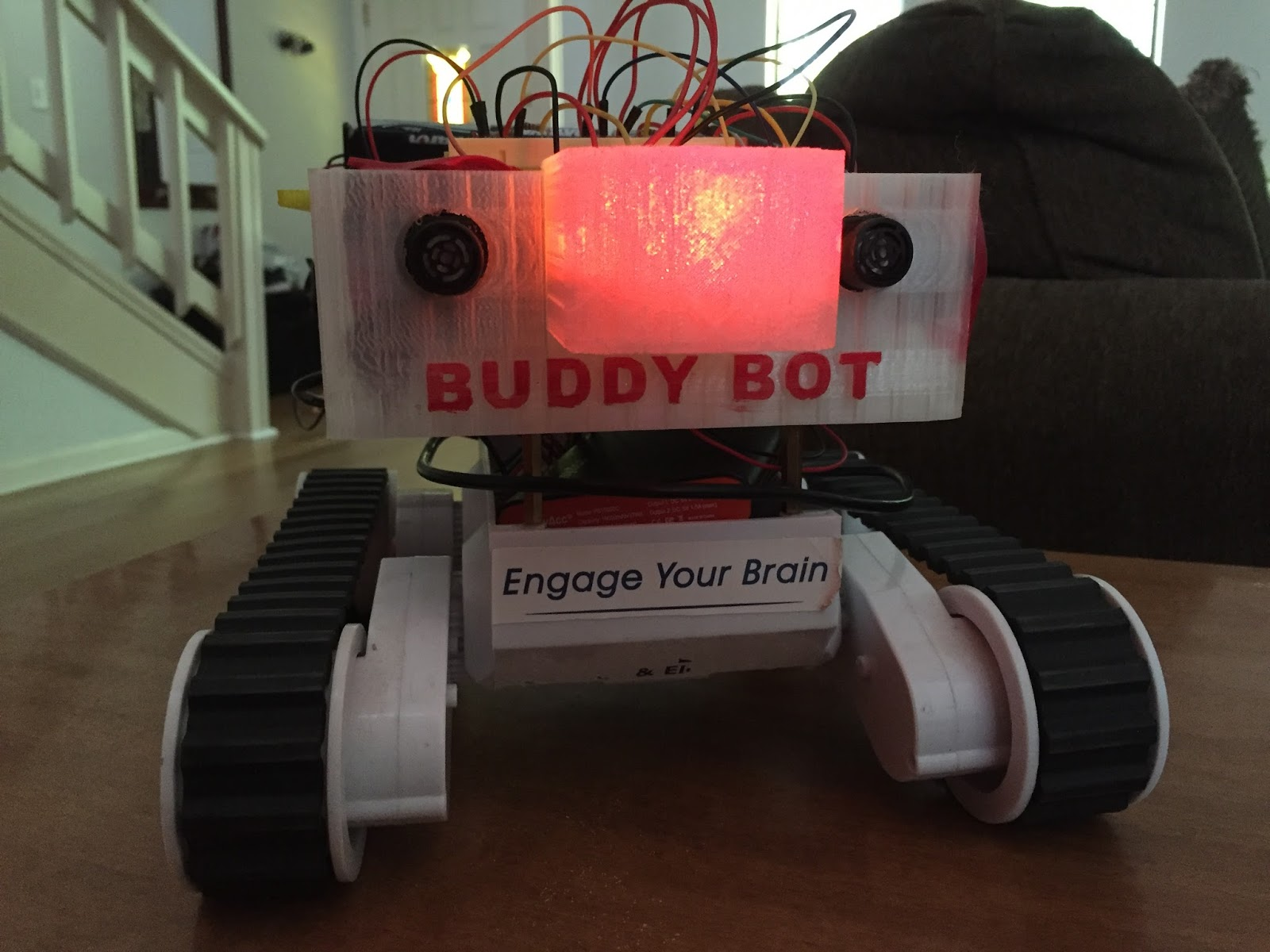 BuddyBot Is an Adorable Robot Programmed Entirely with Swift