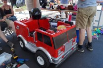 I always wanted to drive a fire truck.