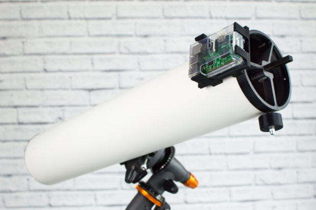 Gaze Across the Solar System with a 3D-Printed, Raspberry Pi