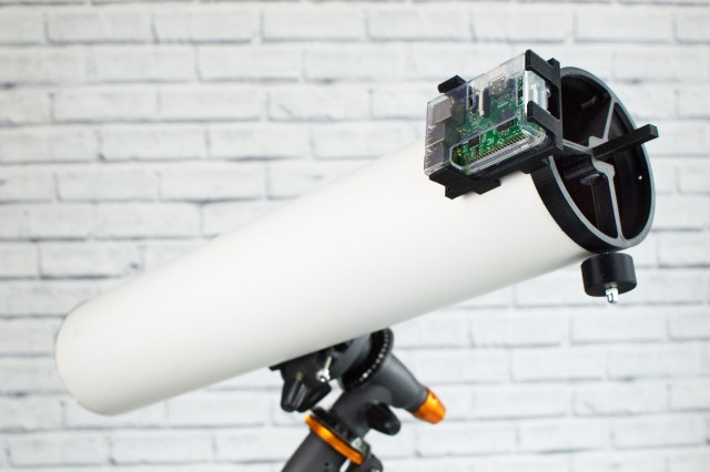 Gaze Across the Solar System with a 3D-Printed, Raspberry Pi Telescope