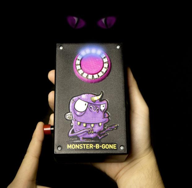 Monster-B-Gone Keeps Kids Safe from Creepy Bedroom Critters