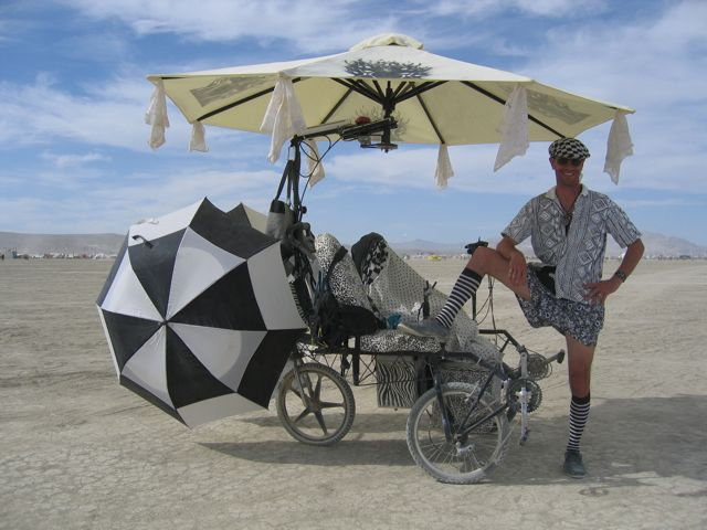 The Zander Lander is definitely one tricycle that's a mobile work of art