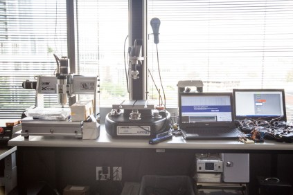 One lab area had multiple small scale manufacturing tools such as CNC mills.