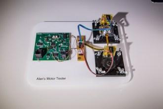 Alan's motor tester