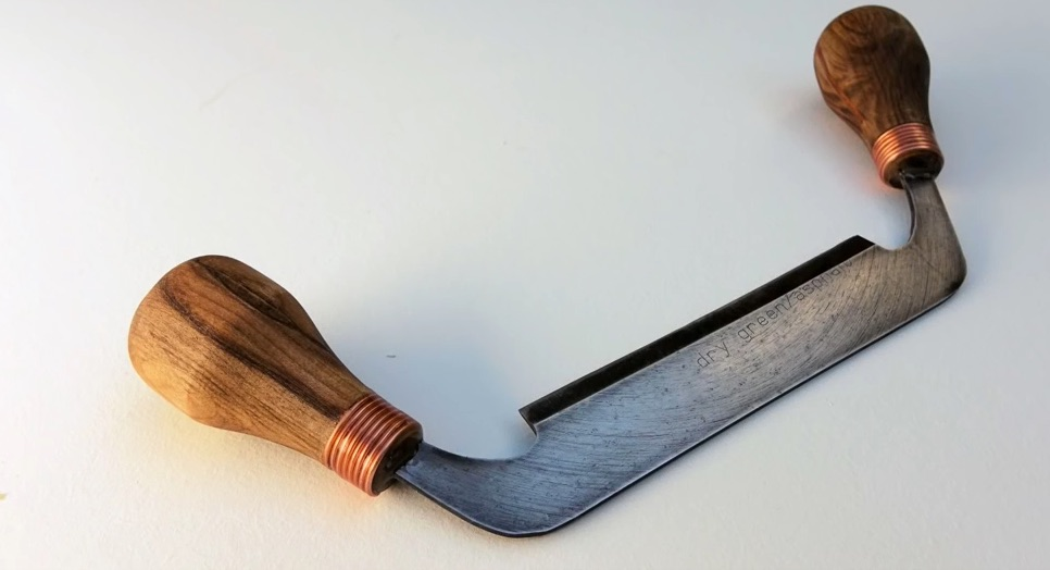 Make a Draw Knife from an Old Saw Blade