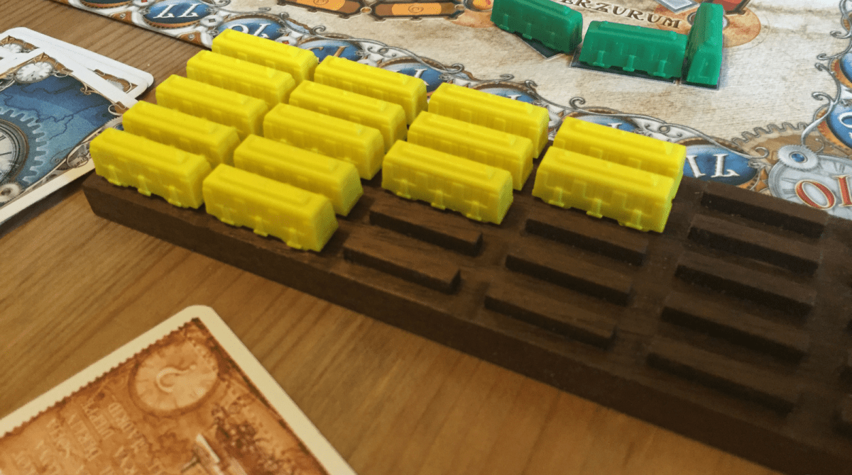 making a train yard for ticket to ride make article featured image