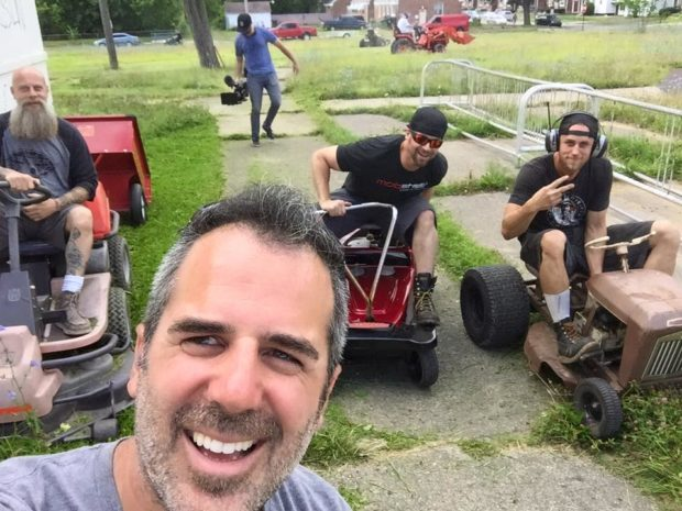 detroit mower gang
