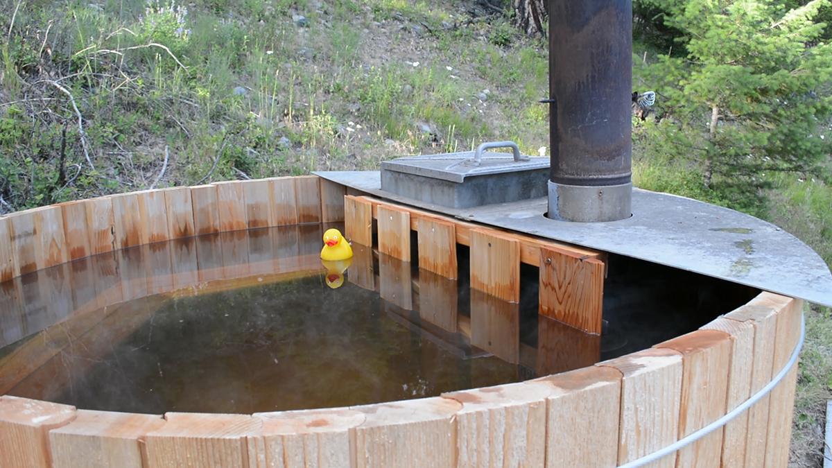 Build A Rustic Cedar Hot Tub For Under 1 000 Make