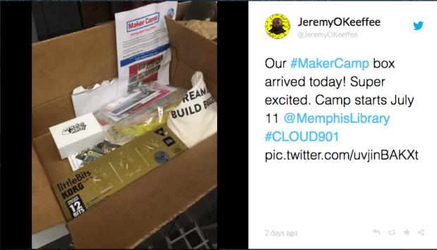 Memphis Library Maker Camp