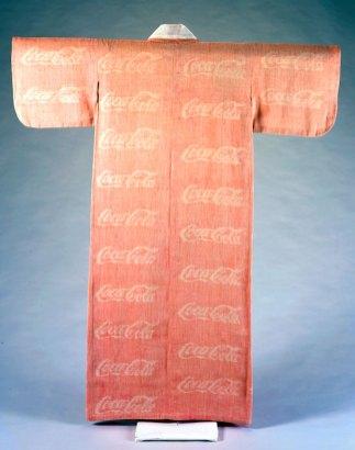 Coca Cola Kimono by Yoshiko Wada.