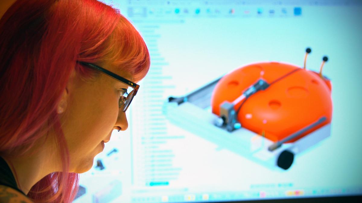 Lisa Winter Goes Back to Her Maker Roots on BattleBots