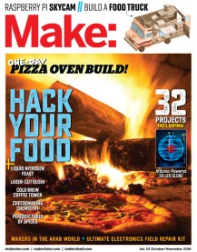 Read articles from the magazine right here on Make:. Don't have a subscription yet? Get one today.