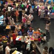 RI Mini Maker Faire from Above